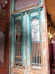 an old french door